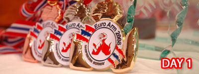 European Armwrestling Championships 2008 - Day 1
