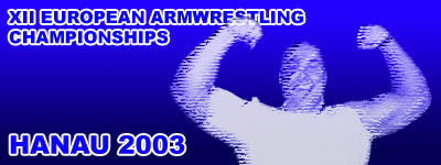 XIII European Armwrestling Championships