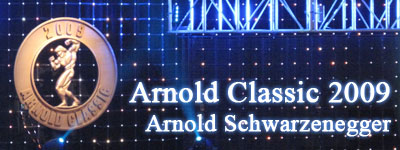 Arnold Classic 2009 - Arnold Schwarzenegger
