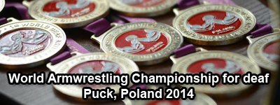 World Armwrestling Championship for Deaf 2014, Puck, Poland