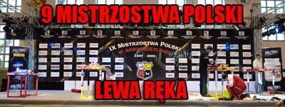 Mistrzostwa Polski 2009 - Lewa ręka